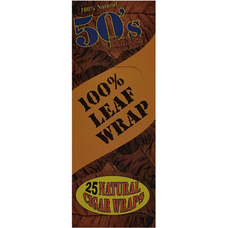 50 KING LEAF WRAP NATURAL 1/25